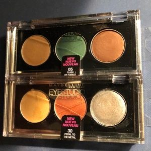MAYBELLINE EyeStudio Color Gleam Cream Eyeshadows